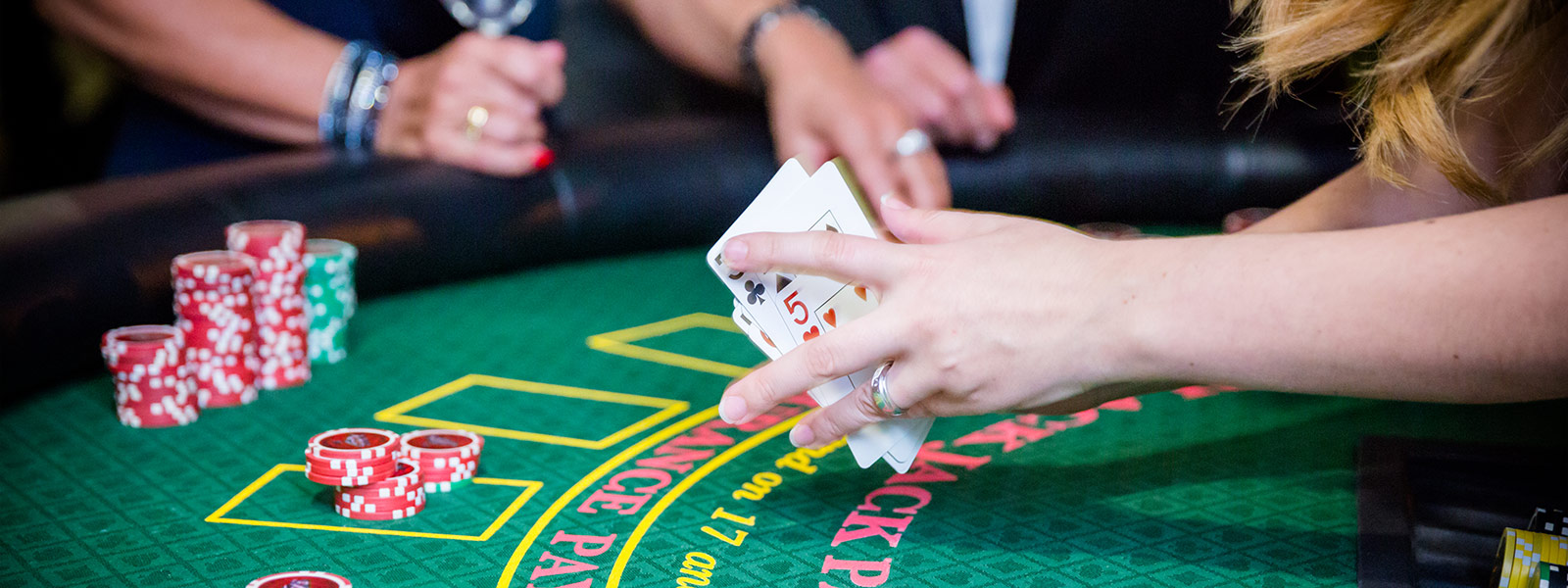 Blackjack Casino Table